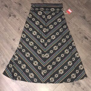 Mossimo, Tribal Maxi Skirt
